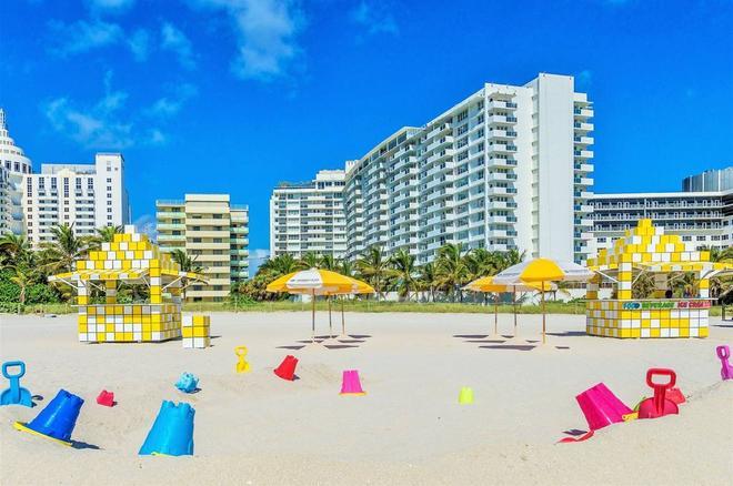 南海灘海洋珊瑚礁套房酒店 - 邁阿密海灘 - 邁阿密海灘 - 海灘