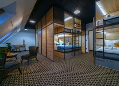 2020 Best Eu Art Boutique Capsule Hostel Chors - Bratislava - Bedroom