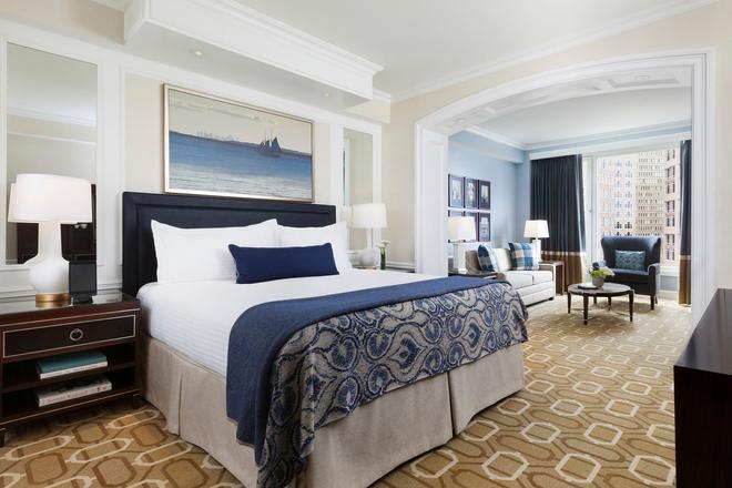 Boston Harbor Hotel - Boston - Makuuhuone