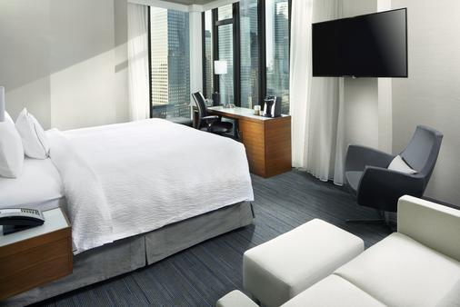 Courtyard by Marriott New York Downtown Manhattan/World Trade Center Area - New York - Phòng ngủ