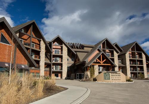 Grande Rockies Resort S 115 S 3 8 6 Canmore Hotel