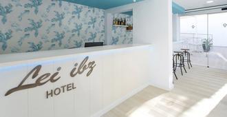 Hotel Playasol Lei Ibiza - Adults Only - איביזה - דלפק קבלה