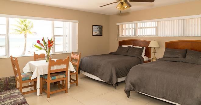 激流海濱酒店 - 好萊塢(佛羅里達州) - 臥室