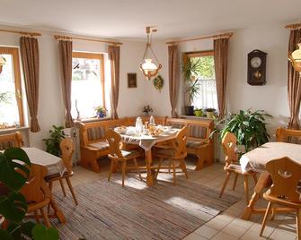 Gastehaus Sonneck - Bischofsgrün - Eetruimte