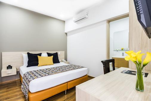Hotel Asturias Medellin - Medellín - Phòng ngủ