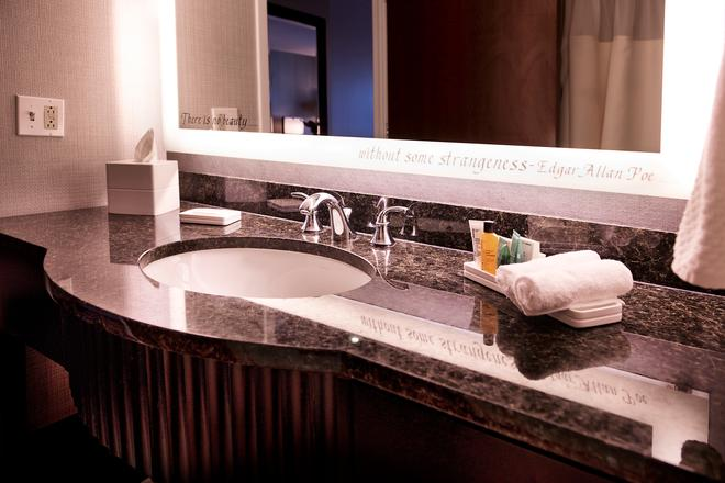 巴爾的摩希爾頓酒店 - 巴爾的摩 - 巴爾的摩 - 浴室