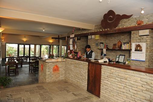 Mum's Garden Resort - Pokhara - Front desk