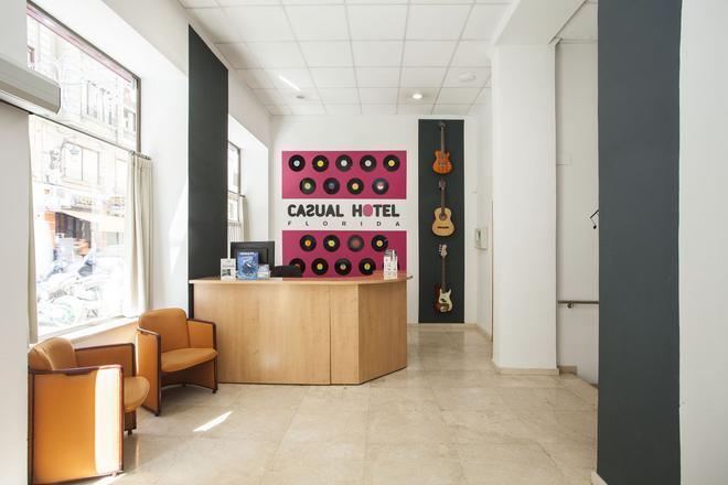 瓦倫西亞休閒音樂酒店 - 瓦倫西亞 - 巴倫西亞 - 櫃檯