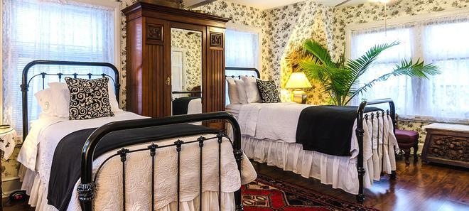費城山牆住宿加早餐旅館 - 費城 - 臥室