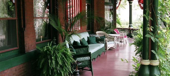 費城山牆住宿加早餐旅館 - 費城 - 陽台