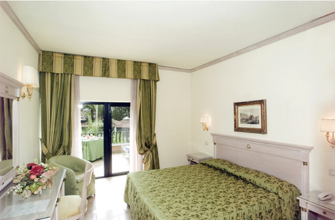 Mancini Park Hotel - Рим - Спальня