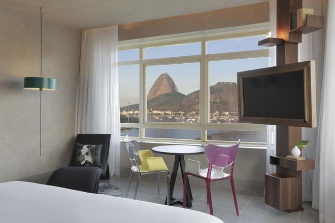里約熱內盧優 2 城間酒店 - 里約熱內盧 - 里約熱內盧 - 臥室