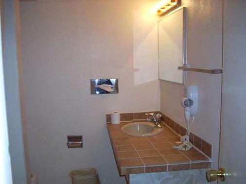 Apache Motel - Moab - Phòng tắm