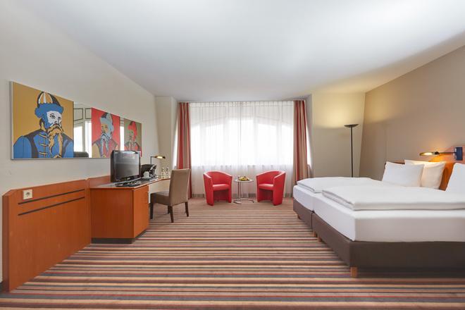 萊比錫城中心華美達酒店 - 萊比錫 - 萊比錫 - 臥室