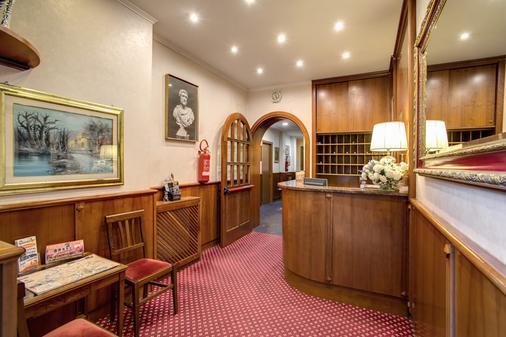 Hotel Galeno - Rome - Front desk
