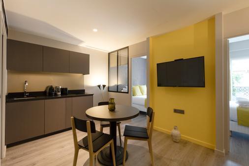 Milestay - Halles - Paris - Dining room