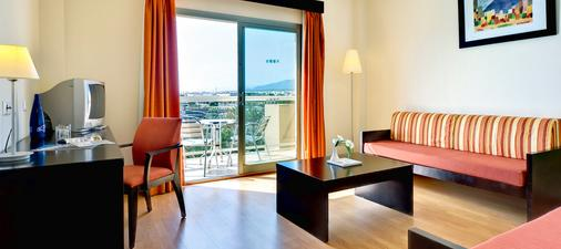 卡博加塔瑪爾花園水療酒店 - 阿爾梅里亞 - 阿爾梅利亞 - 客廳