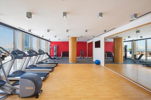 Hilton Garden Inn Ras Al Khaimah - Ra's al-Chaima - Fitnessbereich