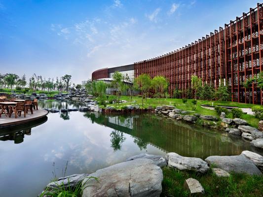 西安中新凱賓斯基酒店 - 西安 - 建築