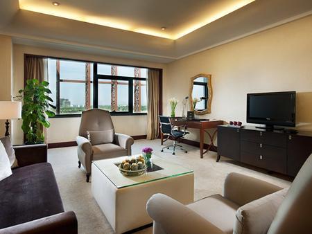 Jin Jiang International Hotel Xi'an - Xi'an - Living room