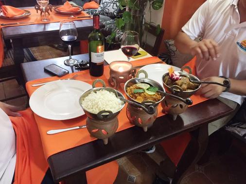 Boutique Hotel Maharaja - Granada - Food