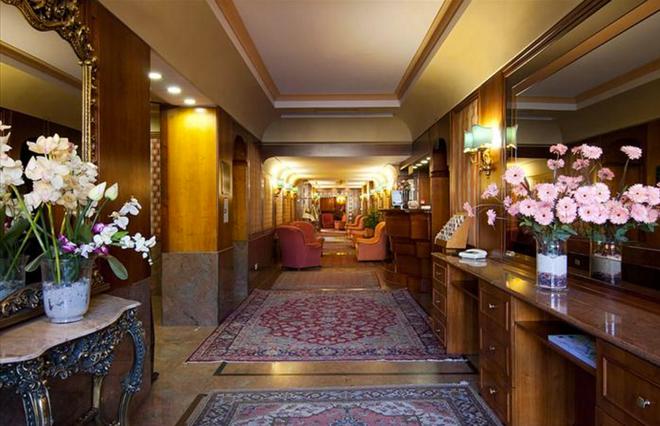 Hotel Galles - Рим - Лобби