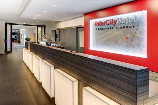 Intercityhotel Frankfurt Airport - Frankfurt - Vastaanotto