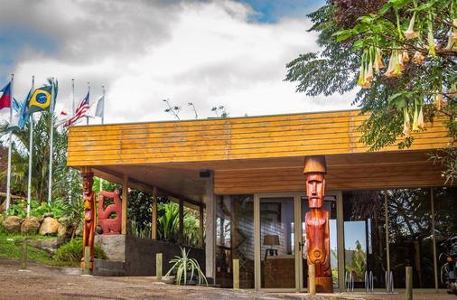 拉帕努伊島酒店 - 漢加羅亞 - 漢格羅阿 - 建築