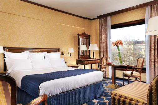 Milan Marriott Hotel - Milano - Makuuhuone