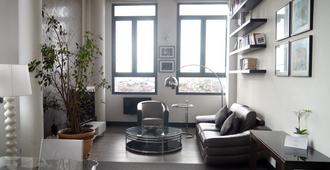Haut Lofts Luxury Sky Concept - Toulouse Centre Ramblas - Toulouse - Sala de estar