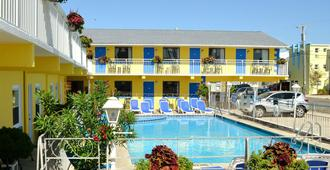 Nantucket Inn & Suites - Wildwood - Rakennus