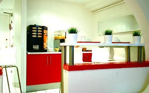 尼斯藝術酒店 - 青年旅舍 - 尼斯 - 尼斯 - 餐廳
