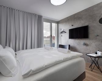Central Hotel - Ljubljana - Slaapkamer