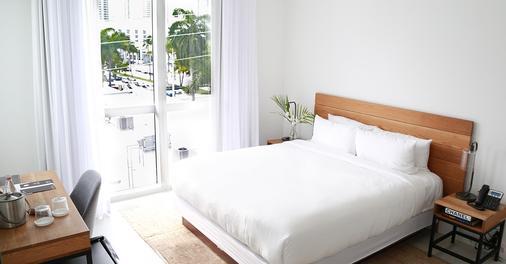 尤班尼卡梅里蒂安酒店 - 邁阿密海灘 - 邁阿密海灘 - 臥室