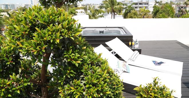 Urbanica The Meridian Hotel - Miami Beach - Kattoterassi