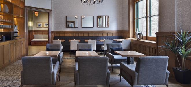 聖皮埃爾奧博格優質酒店 - 魁北克 - 魁北克市 - 餐廳