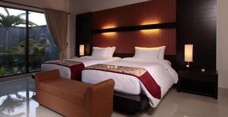 Santi Mandala Villa & Spa - Sukawati - Schlafzimmer