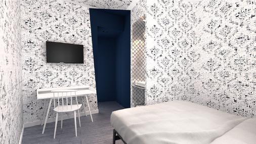 馬斯特里赫特卡邦酒店 - 馬斯垂克 - 馬斯特里赫特 - 臥室