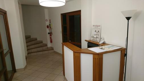 Hotel du Languedoc - Langogne - Front desk