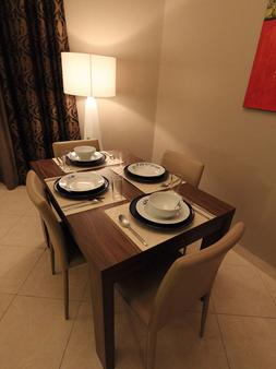 Home to Home Hotel Apartments - Deluxe - Dubai - Dining room