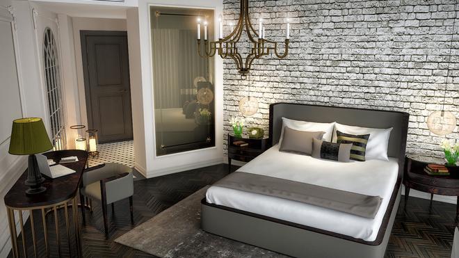 DoubleTree by Hilton Izmir Airport - Izmir - Bedroom