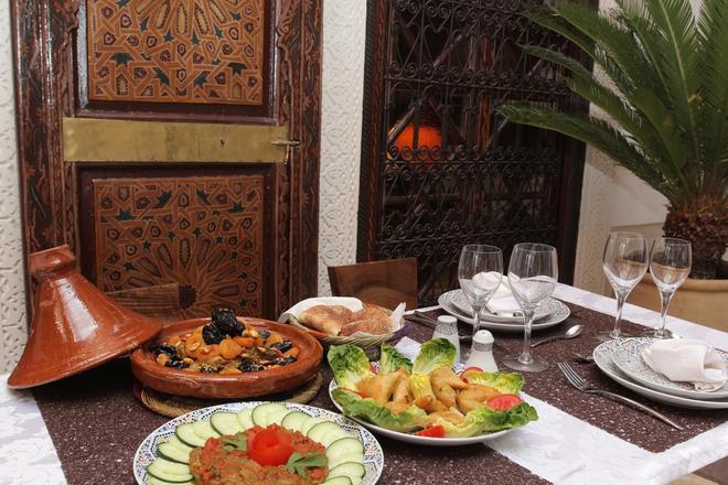 Riad Melhoun & Spa - Marrakesh - Cibo