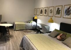 โรงแรมเบอร์นินา - มิลาน - ห้องนอน