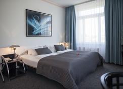 斯美塔納酒店 - 德勒斯登 - 德勒斯登 - 臥室
