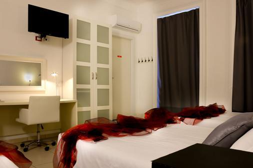 Hotel Rossovino - Milano - Makuuhuone