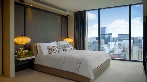 皇冠大都會酒店 - 墨爾本 - 臥室