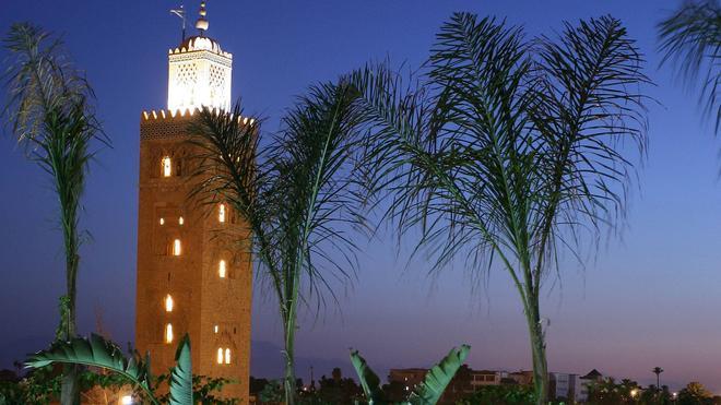 斯庫杜比亞花園酒店 - 馬拉喀什 - 馬拉喀什 - 室外景