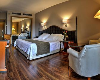 Hotel Beatriz Toledo Auditorium & Spa - Toledo - Slaapkamer