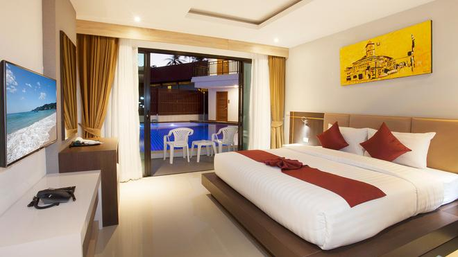 Paripas Patong Resort - Patong - Makuuhuone
