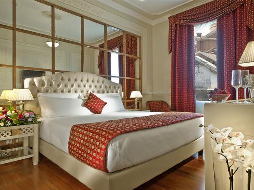 Grand Hotel Ritz - Rzym - Sypialnia